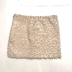 H&M Textured Mini Skirt